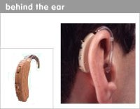 BEHIND THE EAR